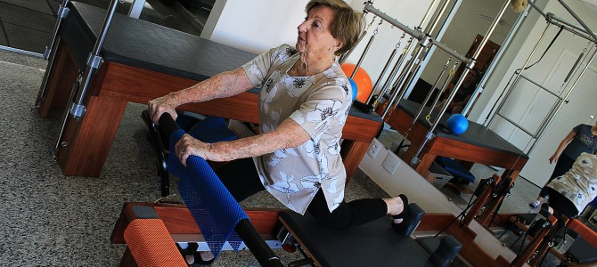 Pilates na melhor idade – Conheça os benefícios